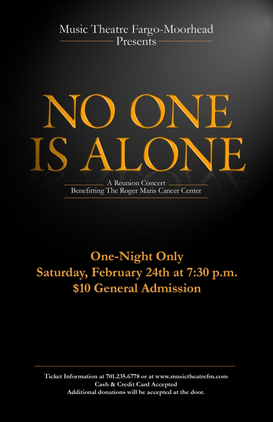 No One Is Alone poster